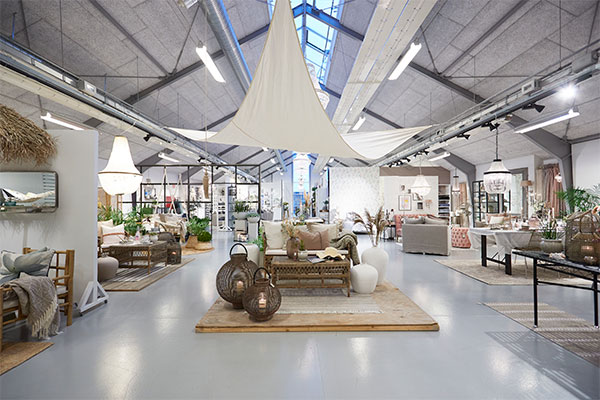 The Showroom of Lene Bjerre in Nibe