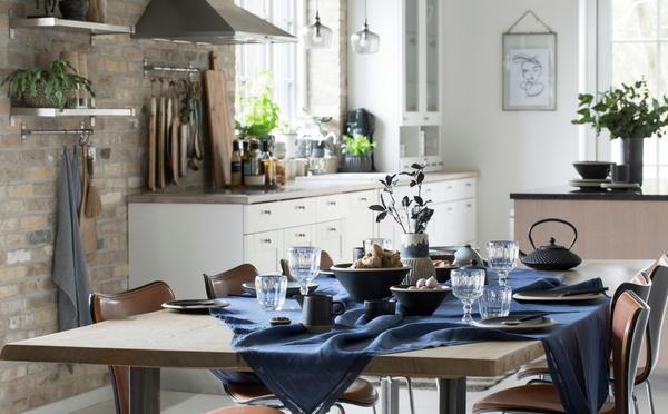Lene Bjerre seasonal table decoration