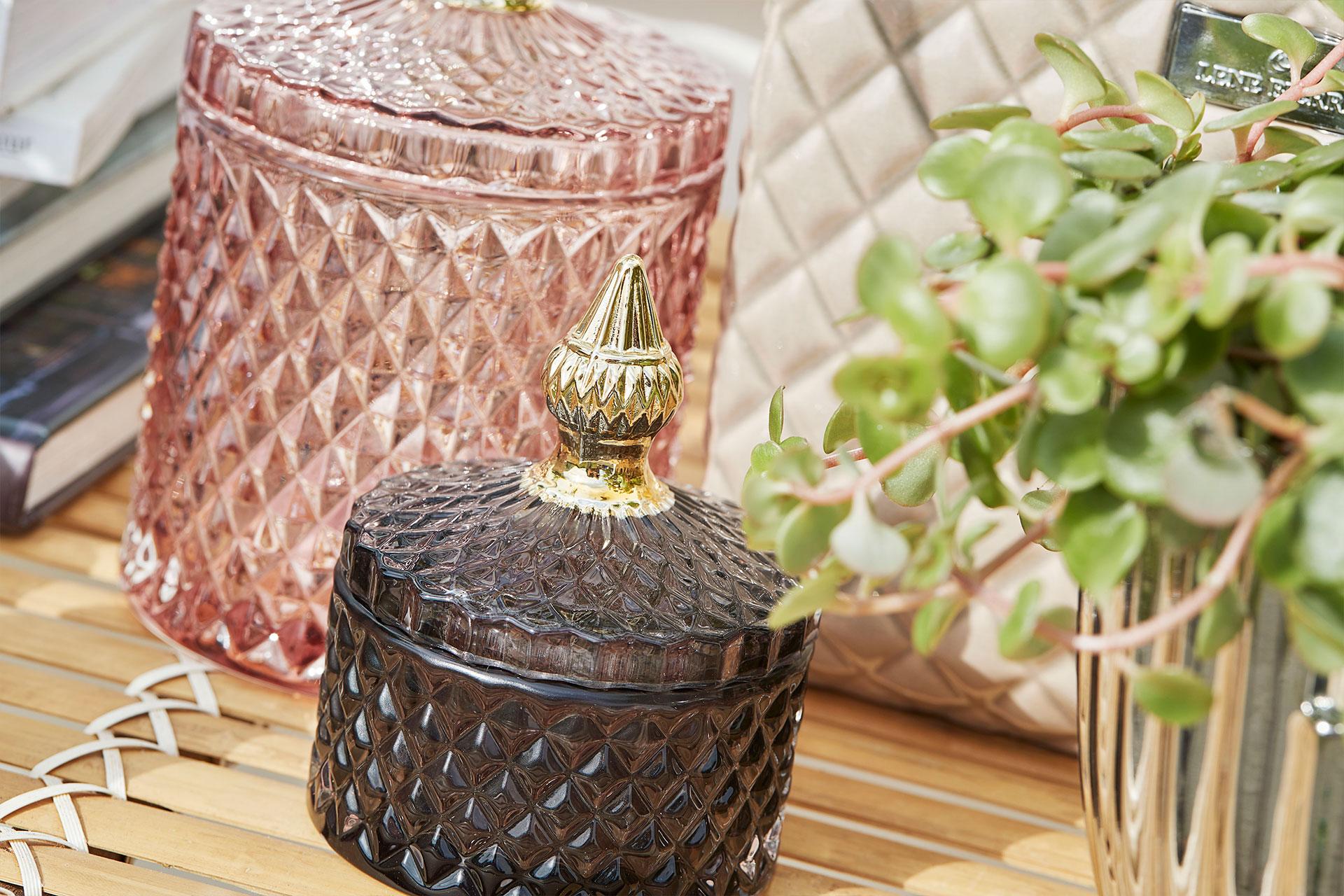 Home decor wholesaler of glass jars - Lene Bjerre