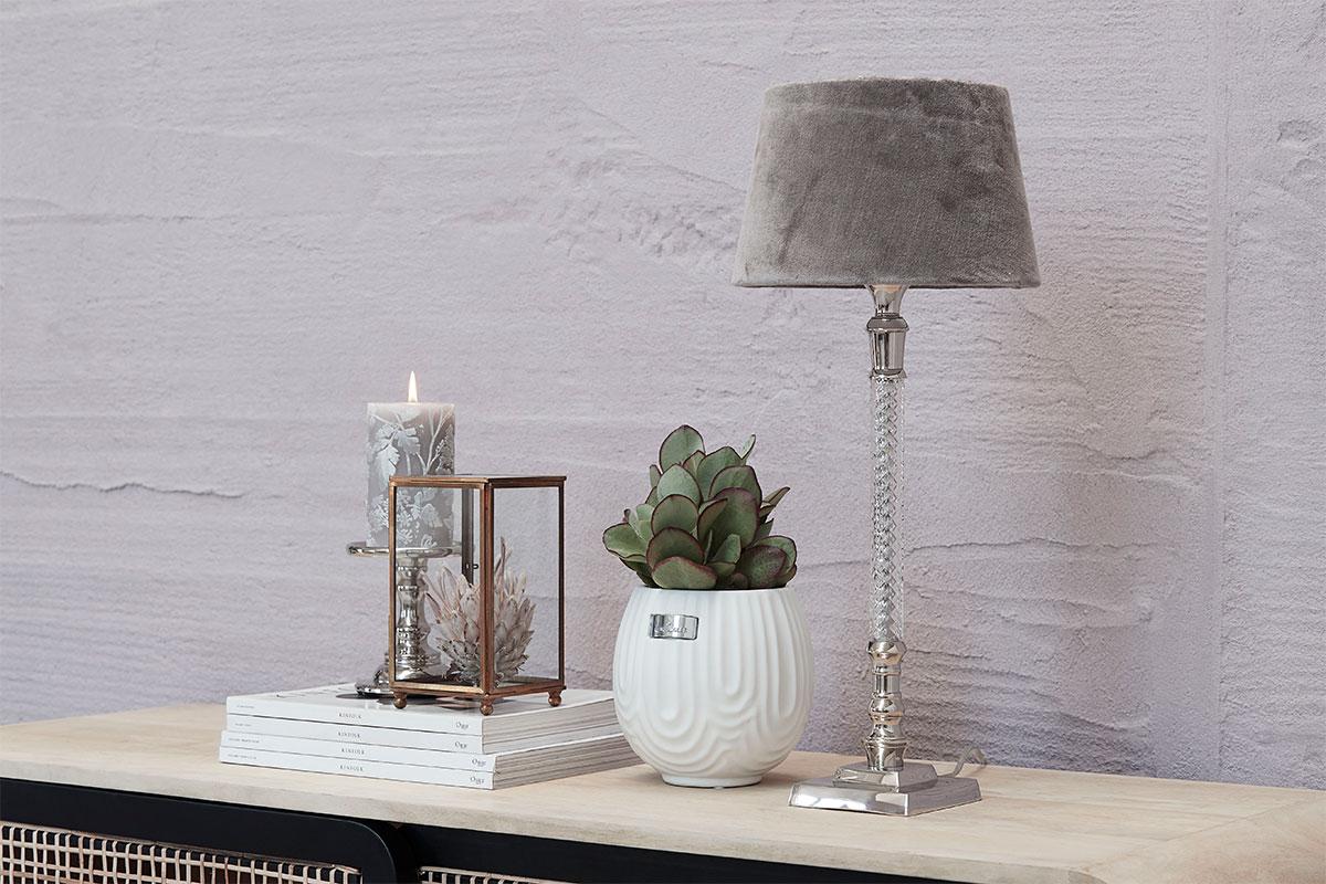 Lamp shade in velvet colors from Lene Bjerre