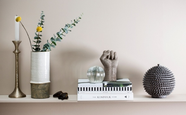 Lene Bjerre vases and Serafina decoration hand