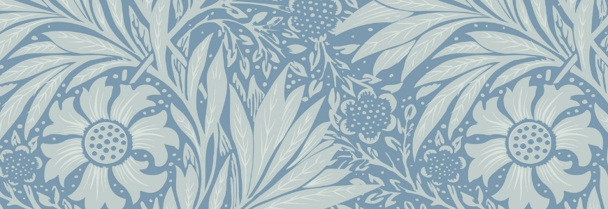 William Morris' print inspired by the style Art Nouveau