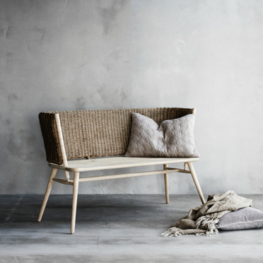 Dealia handmade wooden bench from Lene Bjerre