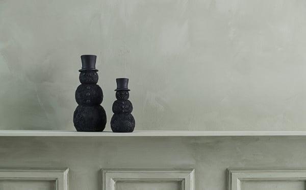 Serafina black coloured snowmen