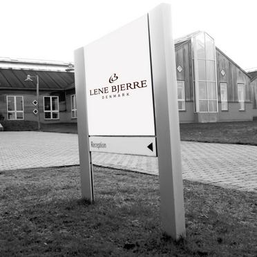 Lene Bjerre Hauptsitz in Nibe im nödlichen Teil Dänemarks