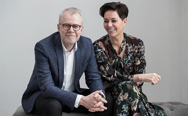 Les propriétaires de Lene Bjerre Design Suzanne Sand et Bjarne Poulsen