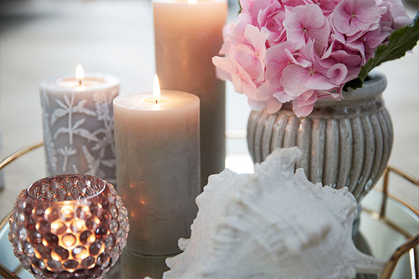 Classic and longlasting candles - Lene Bjerre
