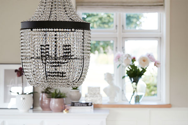 Timeless and classic lamps and chandeliers - Lene Bjerre