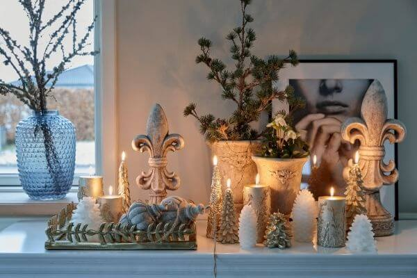 Stunning christmas candles from Lene Bjerre