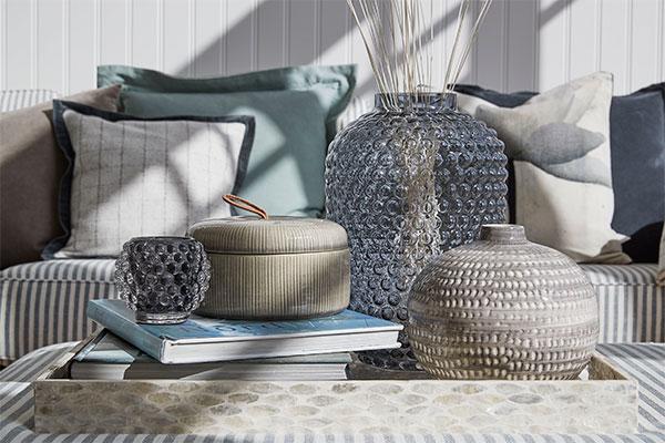 Handmade ceramic jars from Lene Bjerre