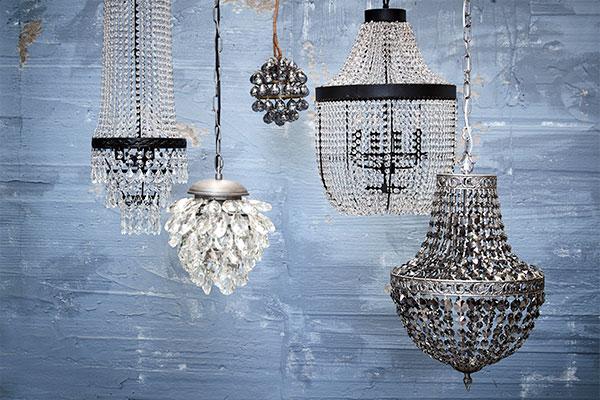 Chandeliers from a Scandinavian decor wholesaler - Lene Bjerre
