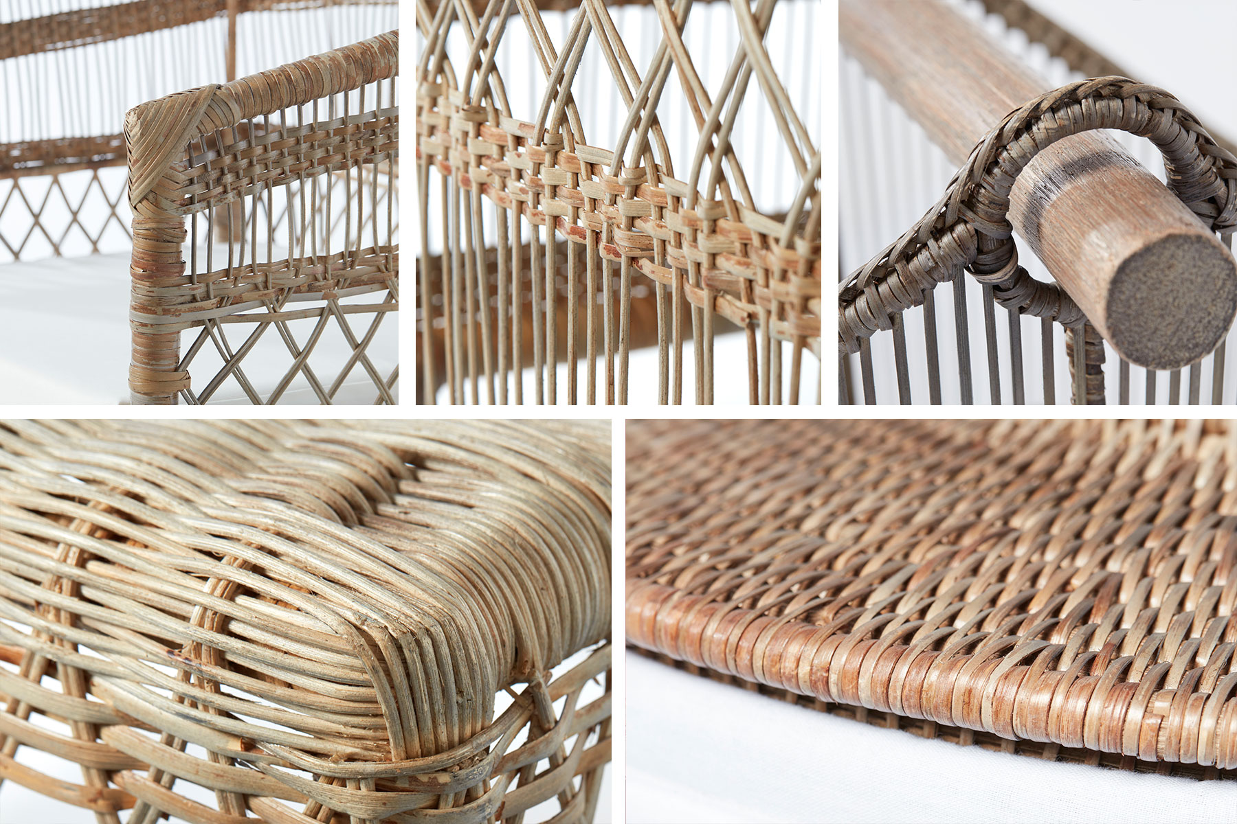 Norah rattan series - wholesaler of sustainable furniture and home accessories - Lene Bjerre