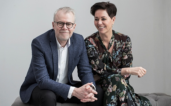Bjarne Poulsen and Suzanne Sand the owners of Lene Bjerre Design A/S