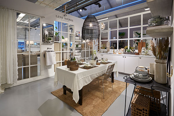 Lene Bjerre Showroom in Nibe