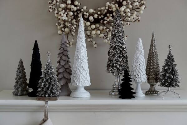 Gorgeous Serafina tree and all of them are perfectly aligned with the Lene Bjerre elegance.