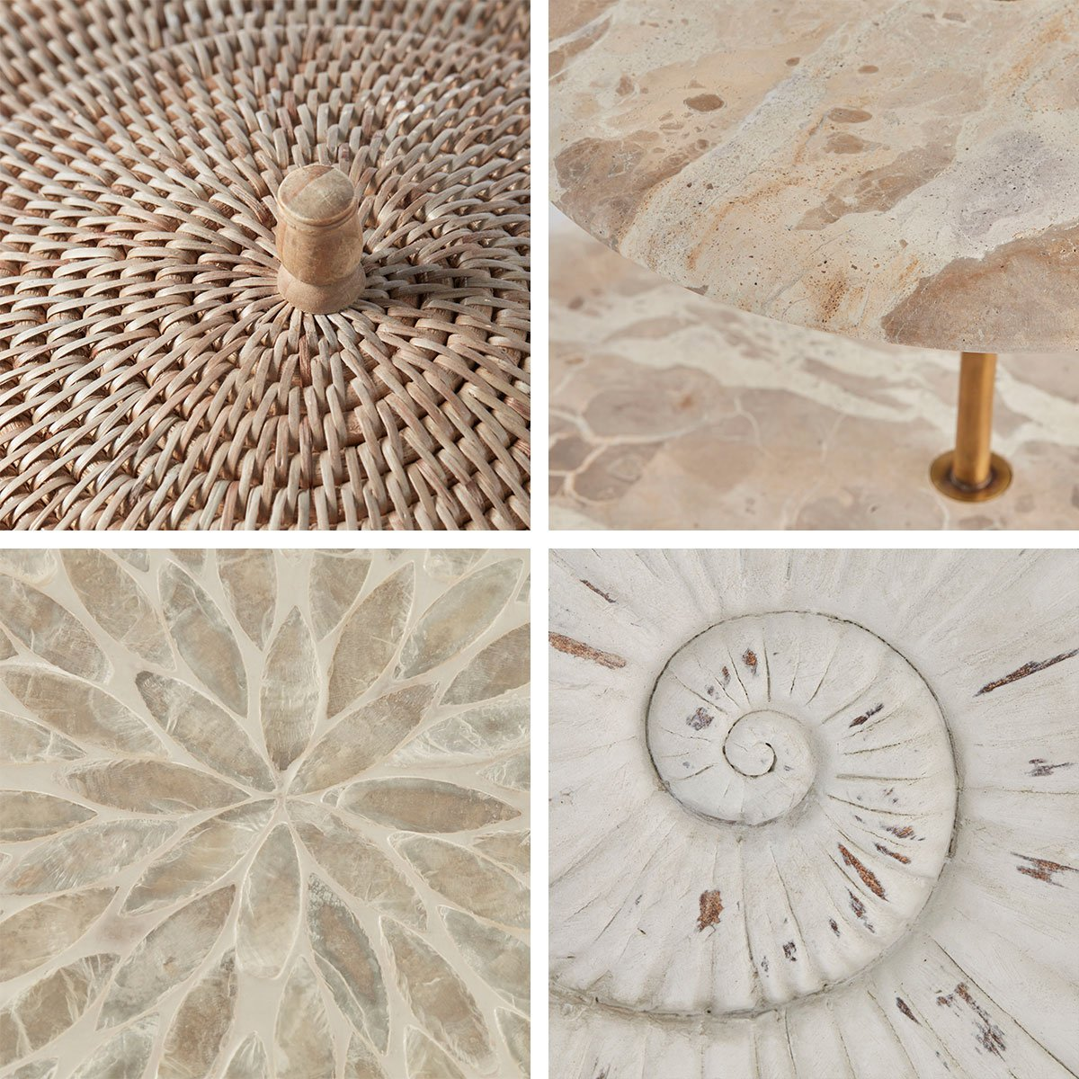Use different materials in your home decorations - Lene Bjerre Design