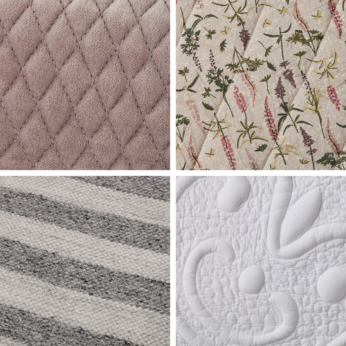 Decorate with soft textiles like rugs, cushions, and throws - Lene Bjerre Design